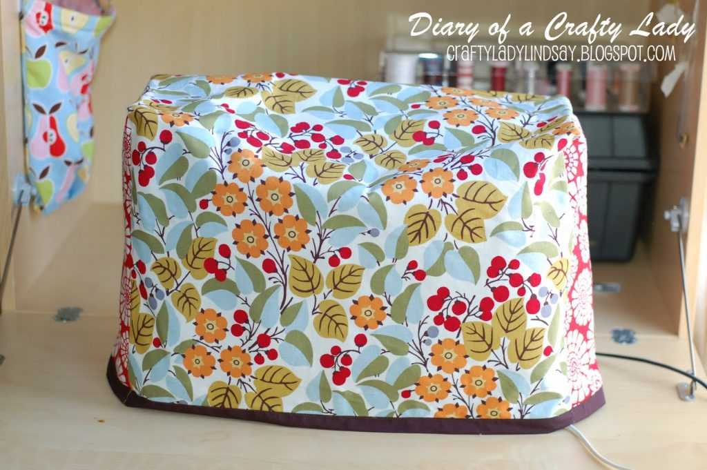 A simple sewing machine cover