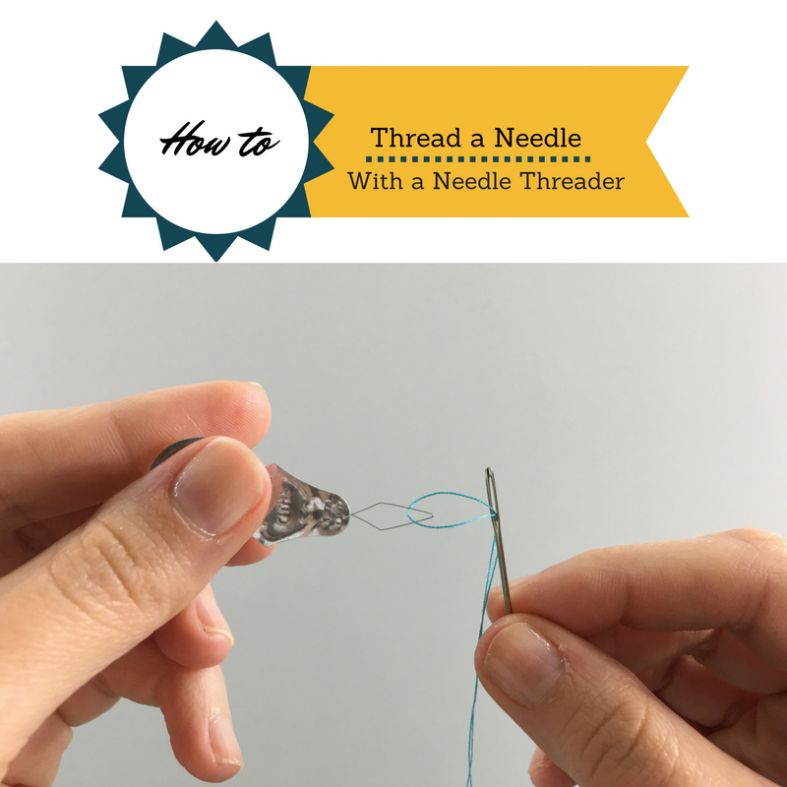 How to Use a Needle Threader