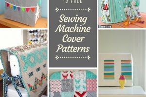 13 Free Sewing Machine Cover Patterns