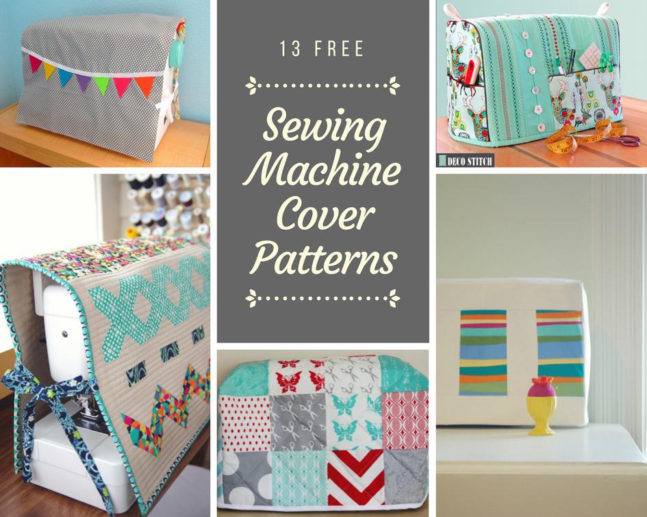 13 Free Sewing Machine Cover Patterns Ada Mae Designs