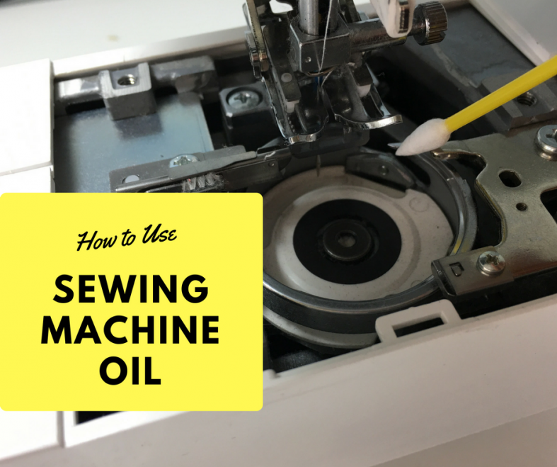 How to Use Sewing Machine Oil