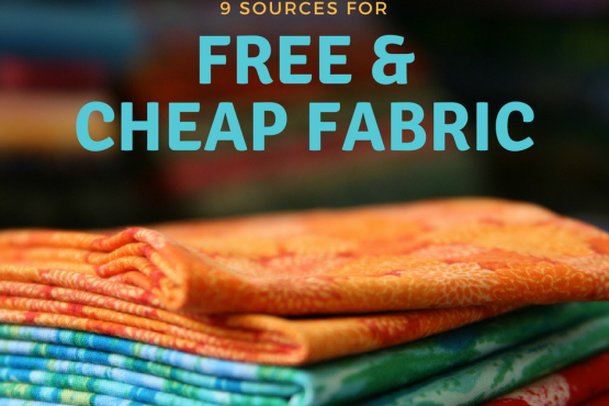 9 Sources for Free and Cheap Fabric
